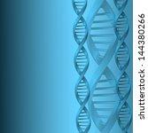 dna molecule structure... | Shutterstock .eps vector #144380266