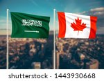 relationship between saudi... | Shutterstock . vector #1443930668