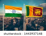 relationship between india and... | Shutterstock . vector #1443937148