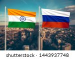 relationship between india and... | Shutterstock . vector #1443937748