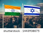 relationship between india and... | Shutterstock . vector #1443938075