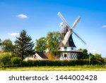 Egeskov Windmill On Funen...