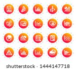charts and diagrams icons.... | Shutterstock .eps vector #1444147718