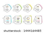confirmed  audit and rfp icons... | Shutterstock .eps vector #1444164485