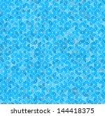 illustration of a blue... | Shutterstock . vector #144418375