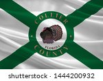 flag of collier county is a... | Shutterstock . vector #1444200932