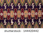 beautiful batik patterns that... | Shutterstock . vector #144420442