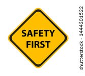 safety symbols and first signs  ... | Shutterstock .eps vector #1444301522
