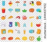 fridge icons set. cartoon style ...   Shutterstock .eps vector #1444437452