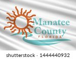 coat of arms of manatee county... | Shutterstock . vector #1444440932