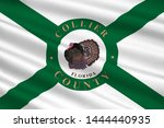 flag of collier county is a... | Shutterstock . vector #1444440935