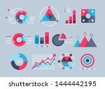 flat vector image on gray... | Shutterstock .eps vector #1444442195