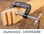 A small joinery clamp used for...