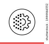 digital transformation vector...   Shutterstock .eps vector #1444466552