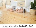 indoor image of cheerful... | Shutterstock . vector #1444481168