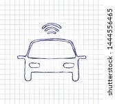 smart car  modern autonomous...