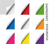 big colorful corner set...   Shutterstock .eps vector #1444596995