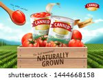 Canned Tomato Ads With Fresh...