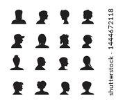 set of people avatars...   Shutterstock .eps vector #1444672118