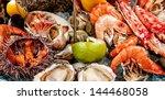 a seafood mix | Shutterstock . vector #144468058