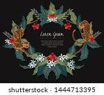 vector illustration of a frame... | Shutterstock .eps vector #1444713395