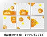 social media banner template ... | Shutterstock .eps vector #1444763915
