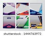 sport social media banner... | Shutterstock .eps vector #1444763972