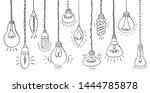 isolated bulbs of different...   Shutterstock .eps vector #1444785878