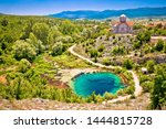 cetina river source water hole... | Shutterstock . vector #1444815728