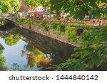 fyris river in uppsala  sweden. ... | Shutterstock . vector #1444840142