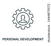 personal development outline... | Shutterstock . vector #1444875572