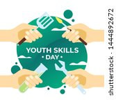 Youth Skills Day Vector...
