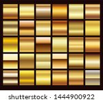 gold foil texture background... | Shutterstock .eps vector #1444900922