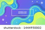 dynamic fluid gradient...   Shutterstock .eps vector #1444950002