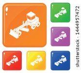 grader icons set collection...   Shutterstock .eps vector #1444957472
