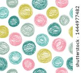 seamless vector pattern with... | Shutterstock .eps vector #1444977482