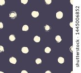 polka dots seamless vector... | Shutterstock .eps vector #1445006852