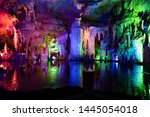 Nice Cave Formed By Nature Wit...