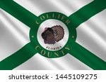 flag of collier county is a... | Shutterstock . vector #1445109275