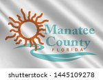 coat of arms of manatee county... | Shutterstock . vector #1445109278