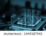 3d Rendering Of Digital Binary...