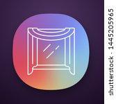 window scarf app icon. window...