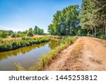 Belgian Summer Landscape With...