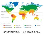 world climate zones map with...