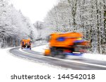 Two Working Snow Plows On...