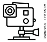 action camera  action cam... | Shutterstock .eps vector #1445422625