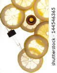 essential oil amber glass... | Shutterstock . vector #144546365
