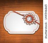 indian festival raksha bandhan... | Shutterstock .eps vector #144546665