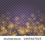 light abstract glowing bokeh... | Shutterstock .eps vector #1445467025