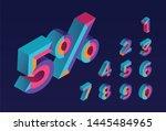 5  sale. 0  1  2  3  4  5  6  7 ... | Shutterstock .eps vector #1445484965
